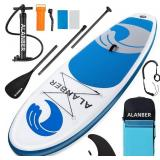 Used Alanber Inflatable Sup Stand Up Paddle Board