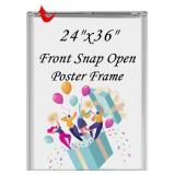 NIDB T-SIGN 24 x 36 Inches Aluminum Snap Open Post
