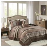 Madison Park Quilt Traditional Jacquard Luxe Desig
