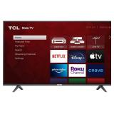 "TCL 55"" Class 4-Series 4K UHD HDR Smart Roku TV -"