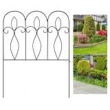 NIDB Sunix Decorative Garden Fence 32in x 10 ft Ou