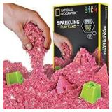 Lot of 10 National Geographic Play Sand - Pink