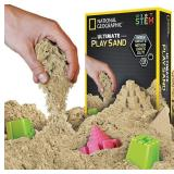Lot of 10 National Geographic Play Sand - Natural