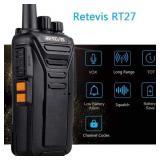 Retevis RT27 Long Range Two Way Radio 22 Channel V