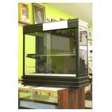 Black Display Case With Adjustable Legs, S