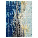 nuLOOM RZBD04A Traditional Vintage Abstract Waterf