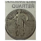 standing liberty quarter