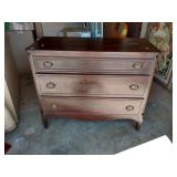 Mahogany 3 Drawer Chest Surface Finish Issues