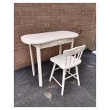 Painted Vanity & Chair