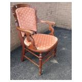 Victorian ? Open Arm Chair