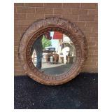 """Round Decorater Foam Wall Mirror 36"""" Diameter"""