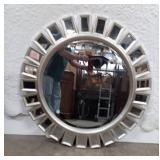"Decorator Wall Mirror, 40""Diameter"
