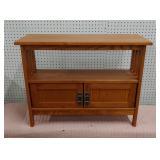 Mini Mission oak shelf