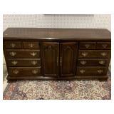 Large mahg. dresser