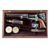 Cased Colt 1851 Navy Revolver .36 Caliber