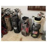 17 Sets of Golf Clubs, Callaway/Titlest