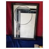 stained glass  framed