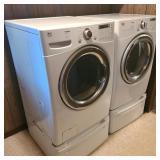 LG Tromm Front Load Washer & Dryer Set