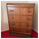 Vintage Waterfall Chest of Drawers
