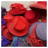 Red Hat Society Hats, Sign, Shirt