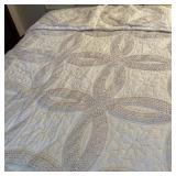 Comforter w/Crochet Trim & Shams Full Size