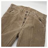 Vintage Red Tag Levi Button Front Corduroy Pants