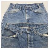 2 Vintage Levi Jeans