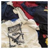 30 T-Shirts Mens Med/Alf Screen Print & Plain