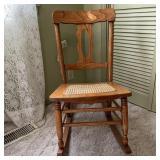 Rocking Chair, Damaged Seat