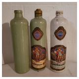 Vintage German Pottery Bottles
