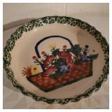 Flower Basket Plate