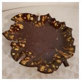 Vintage Leaf Plate