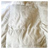 Queen White Goose Down Comforter