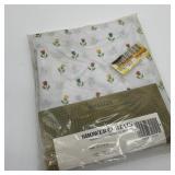 Vintage Berkeley Shower Curtain, Hearts & Flowers