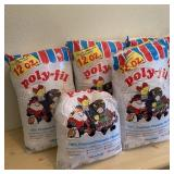 Poly-Fil for Crafts 4 1/ 2 Bags