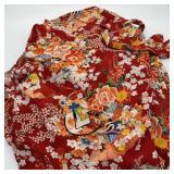 Japanese Kimono w/Belt Made in Japan