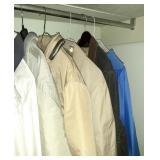 Fourteen Jackets and Coats Size Medium and Large