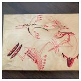 Signed Painting on Wood