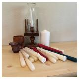 Candle Holders w/Candles