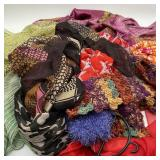 10 Scarves & Crochet Neck Warmers on Scarf