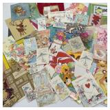 Vintage Greeting Cards & Gift Tags for a crafting