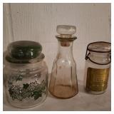 3 Vintage Jars
