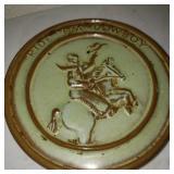 Vintage Ride Em Cowboy Plate