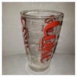 Vintage Glass Coca-Cola Cup