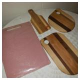 Lot of Vintage Cutting Boards