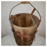 Antique Ice Cream Bucket (rusted)