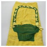 Vintage Decorative Cannon Bath Towel w/Washcloth
