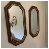 2 Wall Mirrors