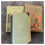 3 Vintage Books, Gray Wolf, Facts & Fancies,