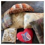 7 Decorative Pillows